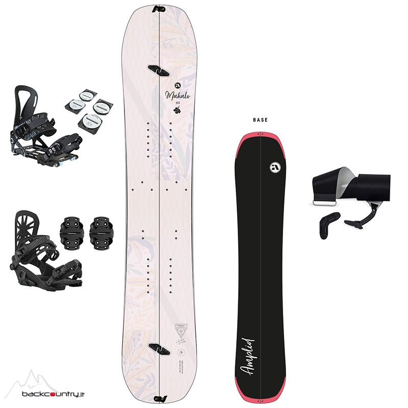 Amplid Mahalo Full Set Women's Splitboard [2020/2021]
