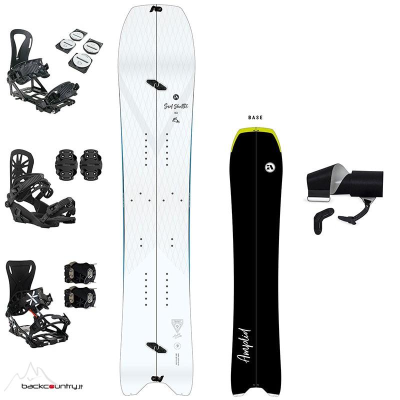 Amplid Surf Shuttle Full Set Splitboard [2020/2021]
